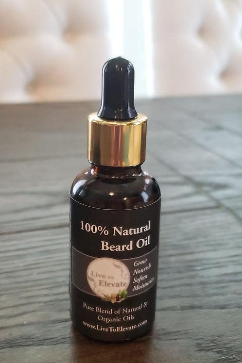 LTE 100% All Natural Beard Oil made w/ Organic Oils