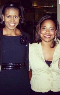 Erica & Michelle Obama
