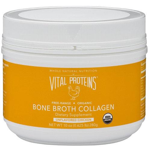 Vital Proteins - Organic Free-Range Chicken Bone Broth Collagen 10 oz.