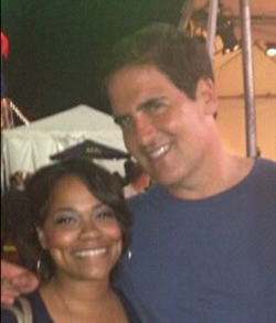 Erica and Mark Cuban
