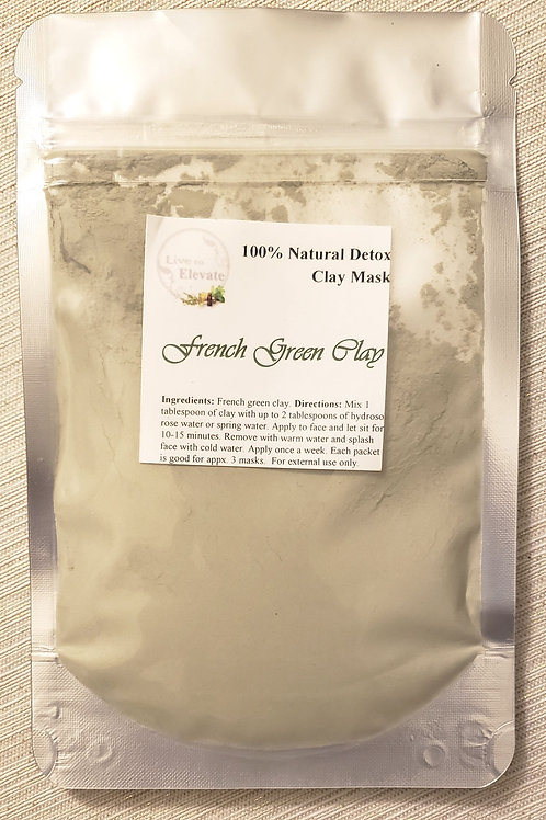 French Green Clay - Detox Mask