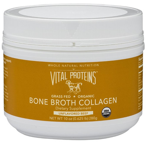 Vital Proteins - Organic Beef Bone Broth Collagen, Grass-Fed