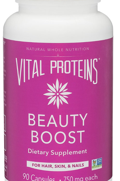 Vital Proteins - Beauty Boost made w/ organic ingredients (90 capsules)