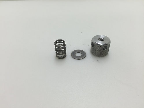 1 Knob, Spring, and Washer