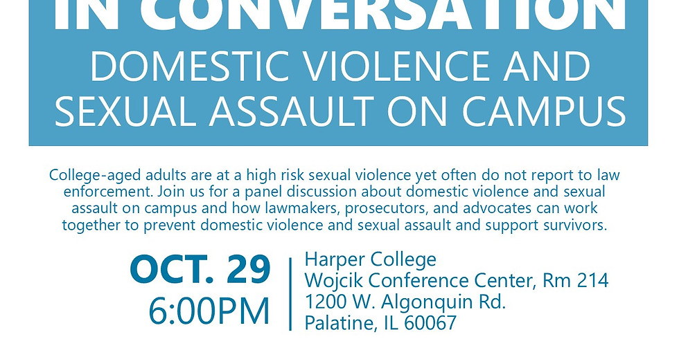 Harper College in Conversation: Domestic Violence and Sexual Assault on Campus