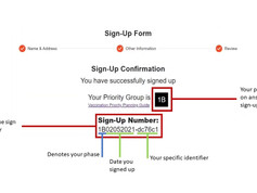 How to Sign-Up for the Community Vaccination Program