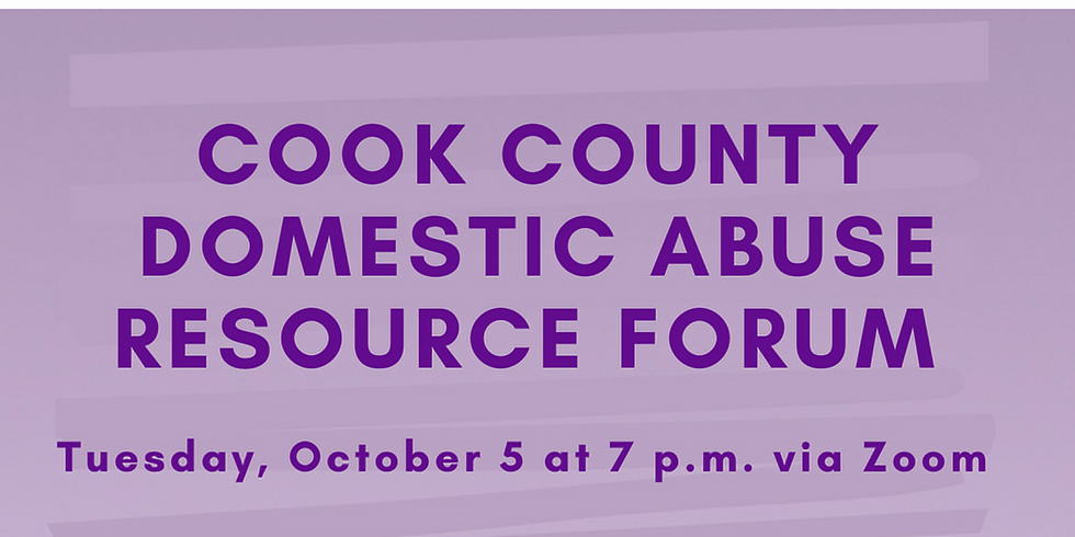 Cook County Domestic Abuse Resource Forum