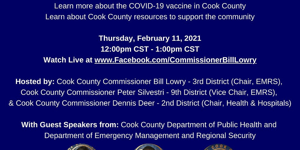 COVID-19 Vaccination & Resources Virtual Town Hall