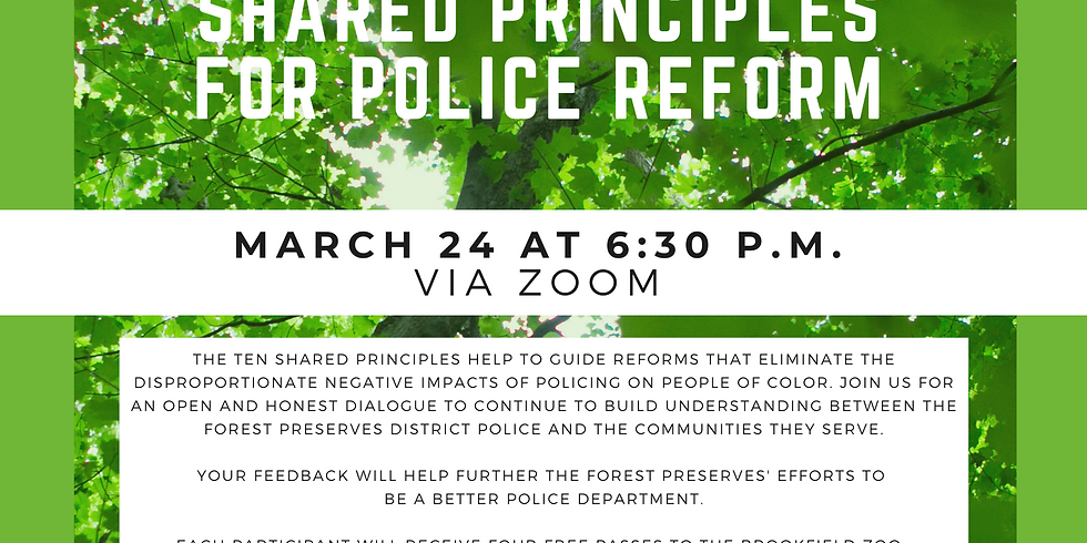 A Candid Conversation Based on the Ten Shared Principles for Police Reform