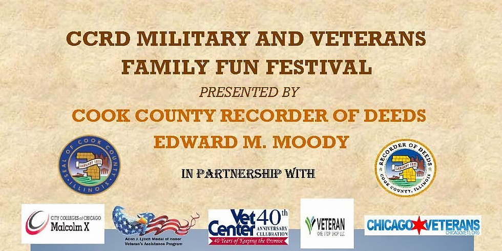 Cook County Recorder of Deeds Military & Veterans Family Fun Festival