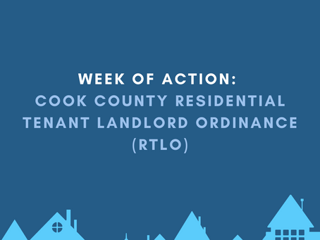 Join Me for a Week of Action in Support of the Cook County RTLO