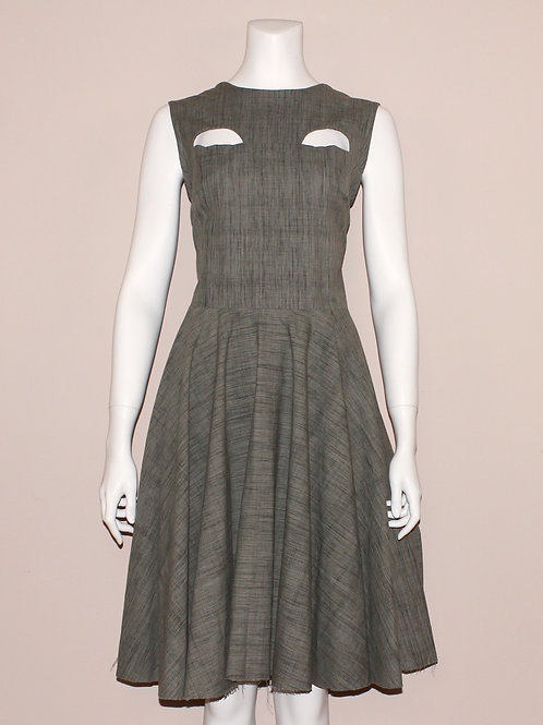 Half Moon Cut-Out Dress