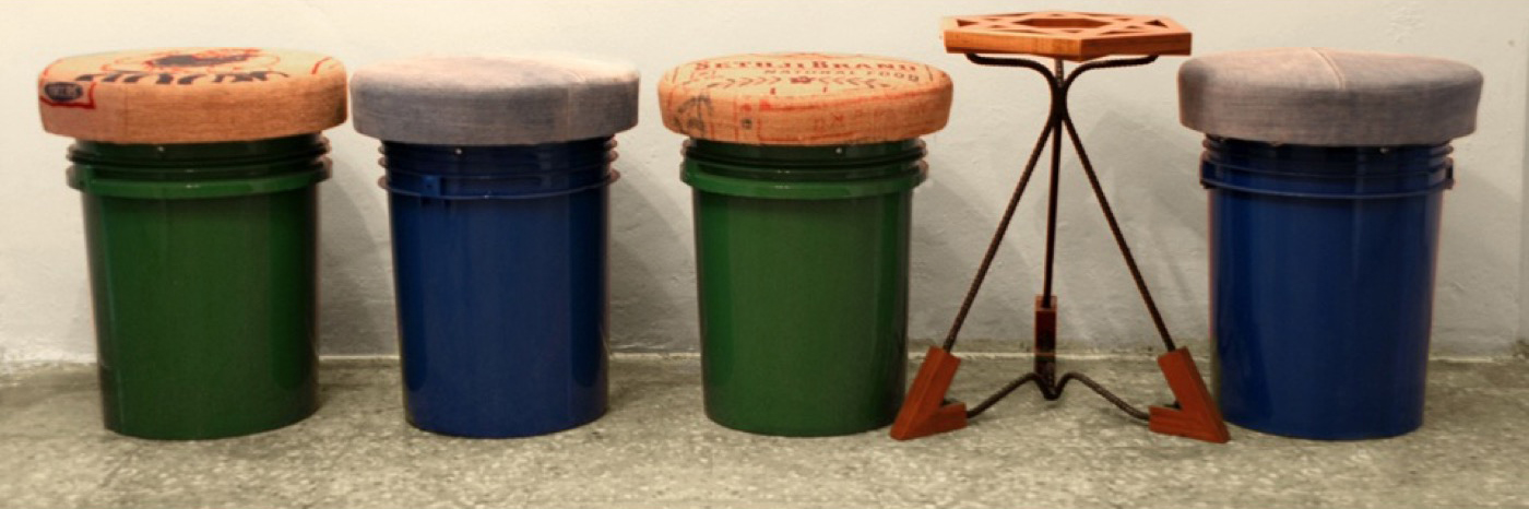 Paint Bucket Stools