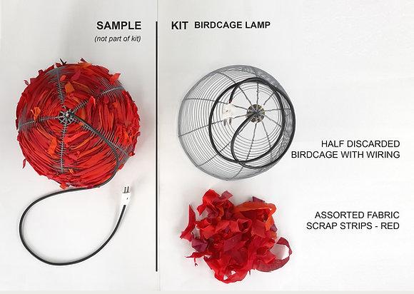 Birdcage lamp kit