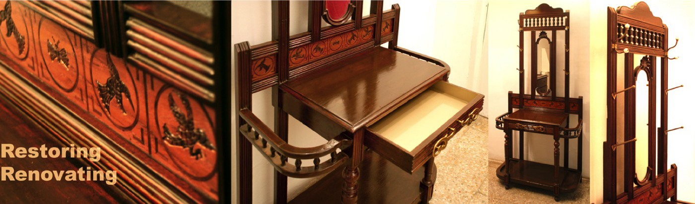 Renovated Parsi dressing table