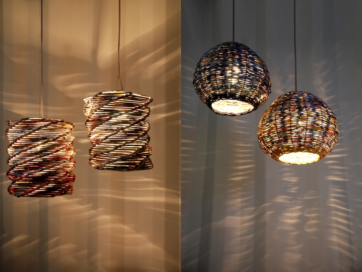 PaperScape Lamps