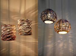 PaperScape Lamps