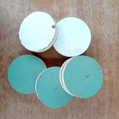 Circular Laminated Plywood pieces