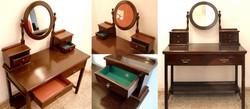 Renovated flip dressing table