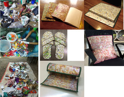 various products from foil wrappers