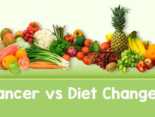 Cancer Vs Diet Changes