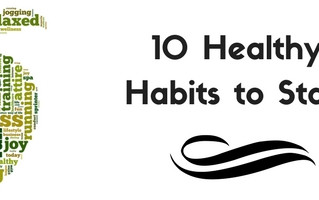 10 healthy Habits to start this month