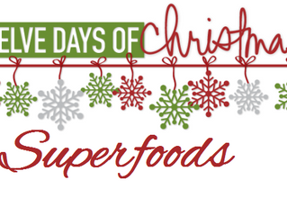 12 days of Christmas Superfoods
