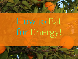 How to eat for more energy