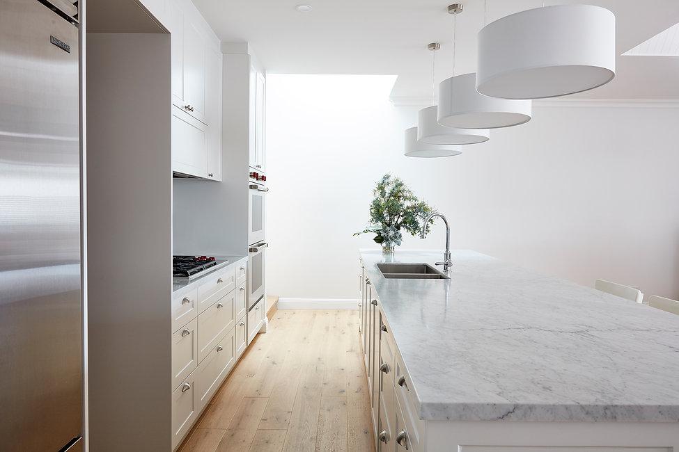 interior design / kitchen design / naremburn / modern kitchen / timber floor / sydney / australia / renovations /alterations / bentley design