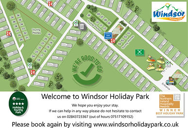 Windsor Holiday Park - Park Map 2020