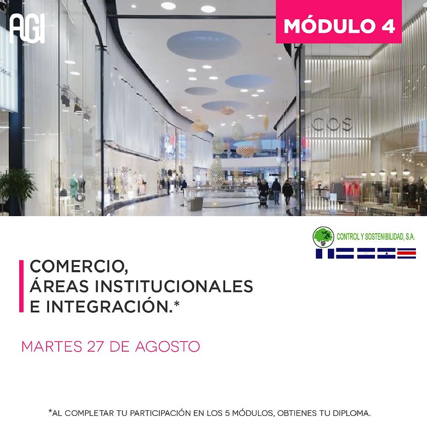 MÓDULO 4: Comercio, áreas institucionales e integración.