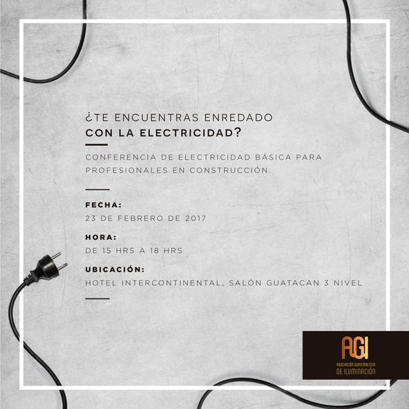 Conferencia de Electricidad básica