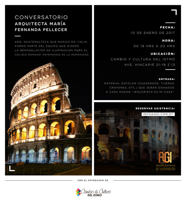 CONVERSATORIO                                                   Proyecto de Iluminación - Coliseo Ro