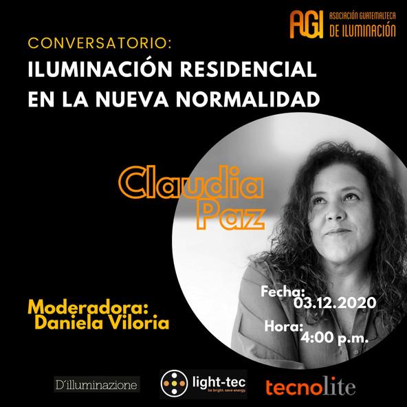 conversatorio: iluminación residencial en la nueva normalidad