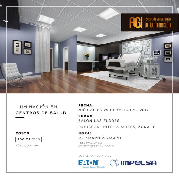 """Conferencia """"Iluminación en Centros de Salud"""""""