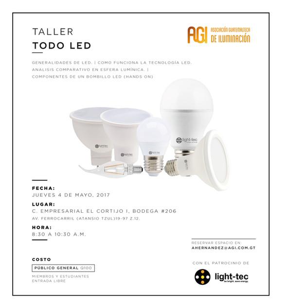 Taller Todo LED