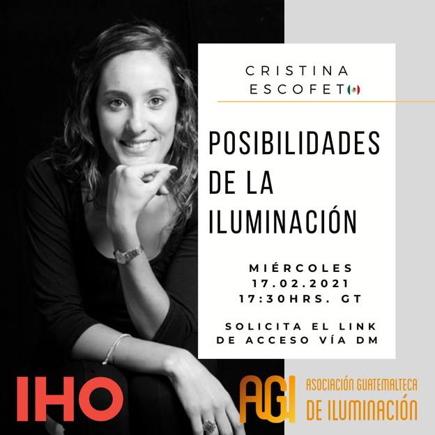 WEBINAR: POSIBILIDADES DE LA ILUMINACIÓN