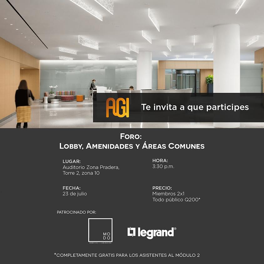 Foro: Lobby, Amenidades y Áreas Comunes