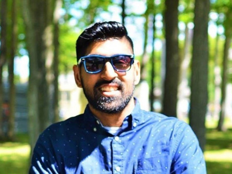 Deaf/HH Person of the Month:  Hamza Khan