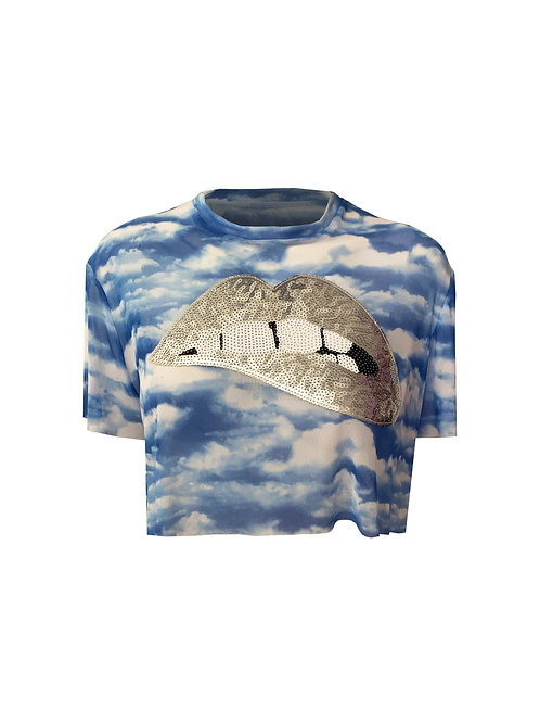 POUTY CLOUDS TEE