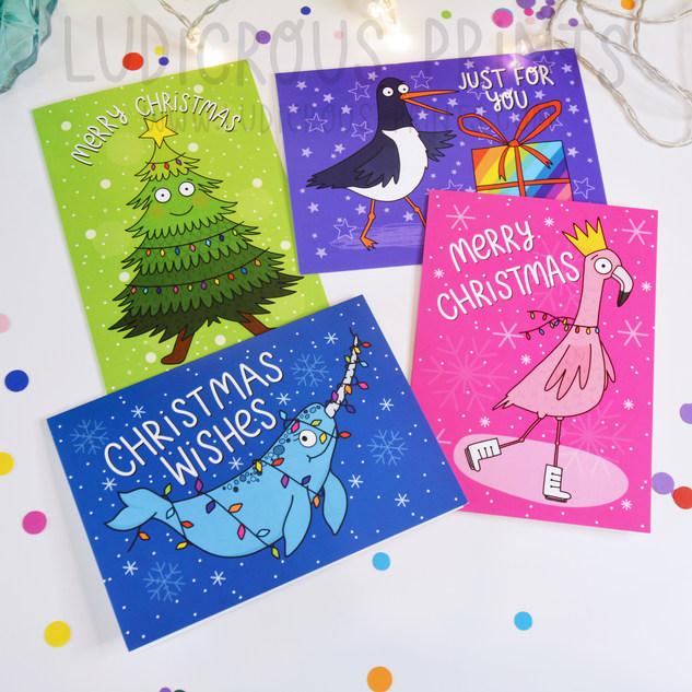 Ludicrous Christmas Cards
