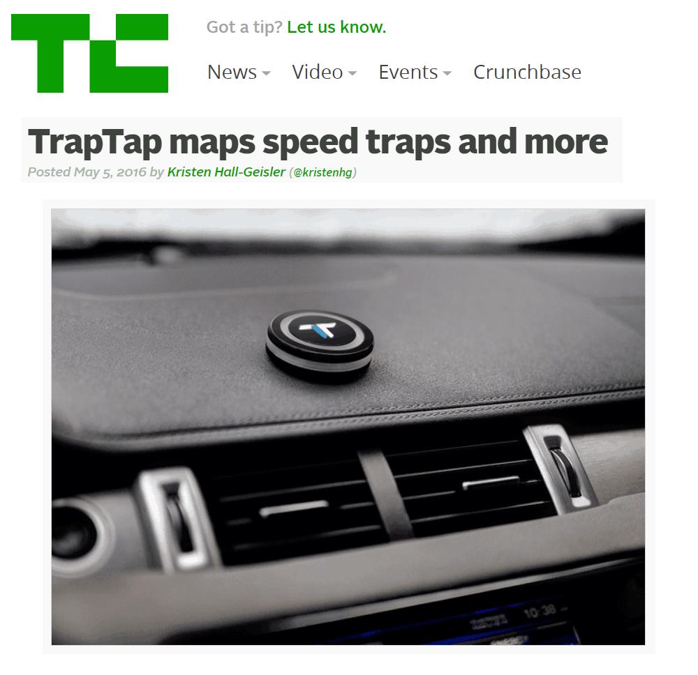 TrapTap - Tech Crunch
