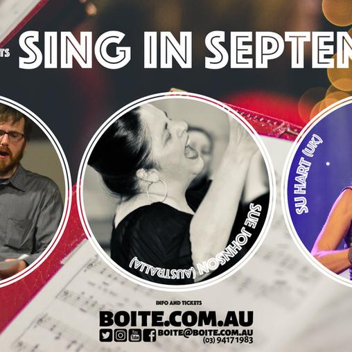 Sing in September