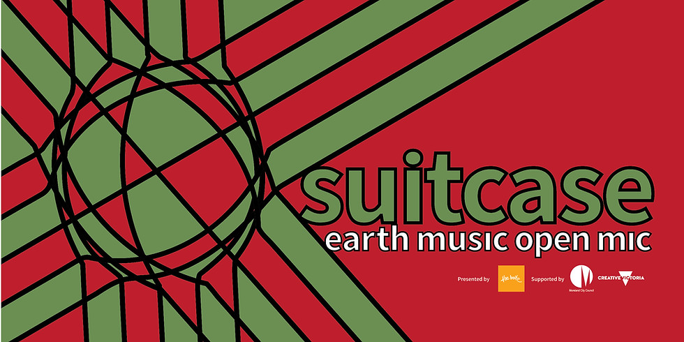 Suitcase: Earth Music Open Mic