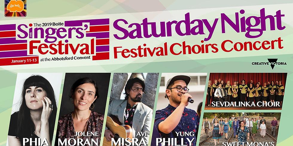 Festival Choirs Concert