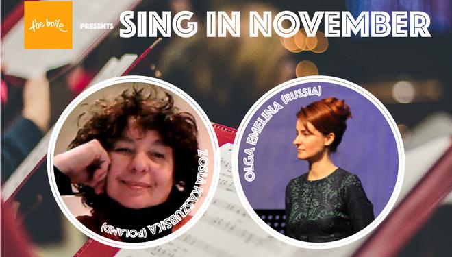 Sing in November