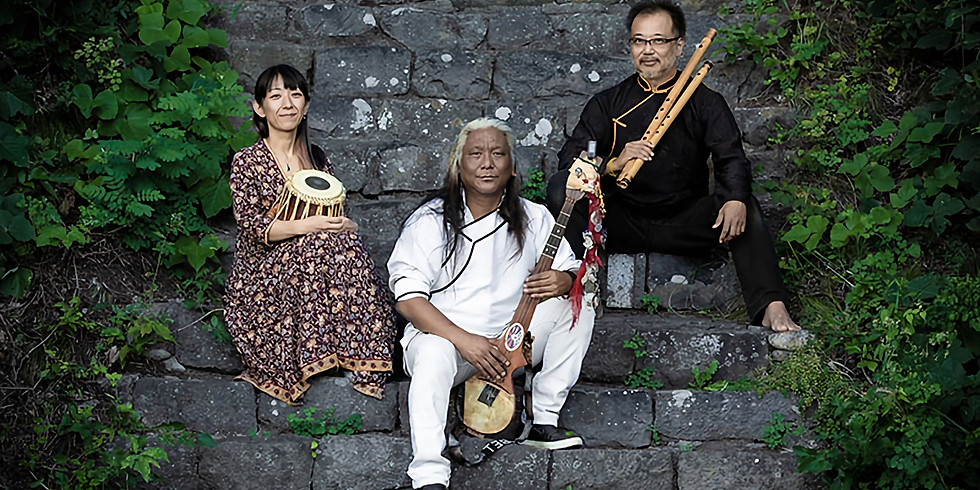 Raga Shambhala with Tenzin Choegyal, Taro Terahara and Ayako Ikeda