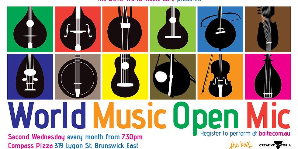 World Music Open Mic #9