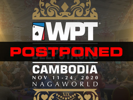 WPTDeepStacks Cambodia November 2020 Postponed