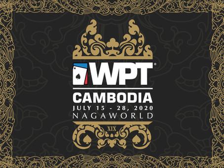 WORLD POKER TOUR® ANNOUNCES WPT® CAMBODIA MAIN TOUR EVENT TO OPEN SEASON XIX